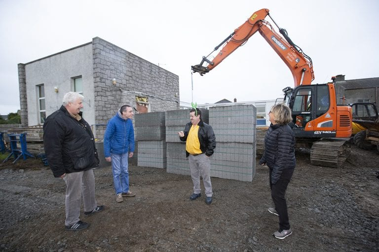 Charity's joy as work to enhance facilities begins
