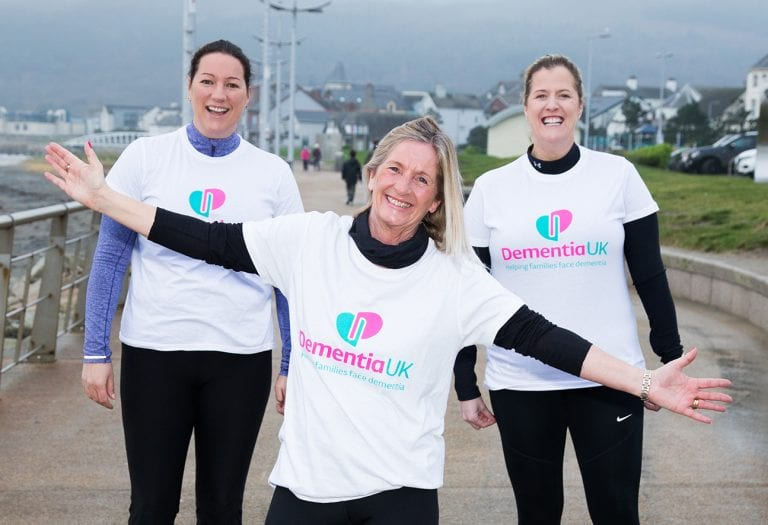 Netball club's fantastic fundraiser in aid of Dementia UK