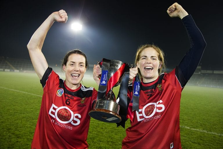 Down camogs storm to All Ireland success