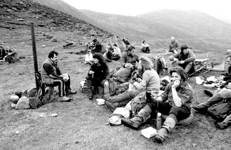 Memories of the final Mourne Wall Walk