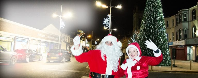 Newcastle lights up for Christmas