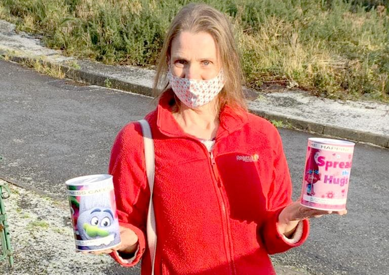 Face masks created to raise funds for The Happiness Cafes