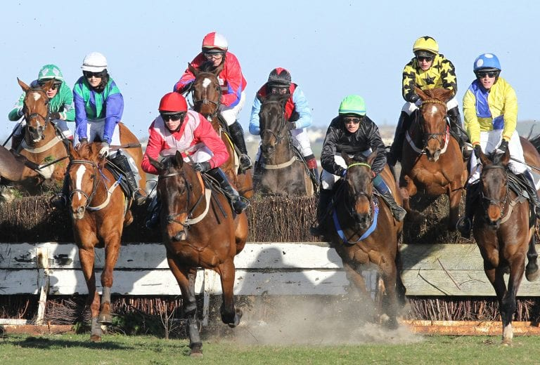 East Down Foxhounds' Tyrella point to point races off
