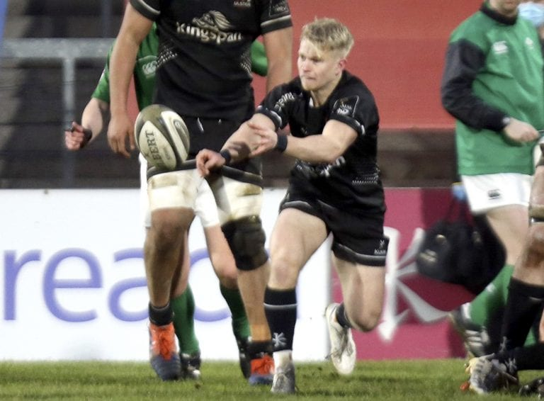 Saintfield player in Ulster A rugby victory