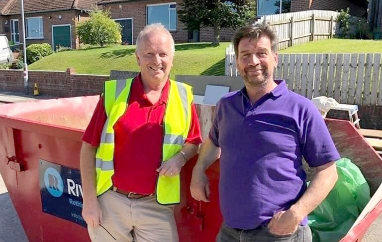Local men happy to help as family's home is transformed on BBC show