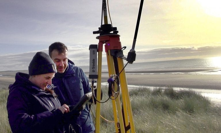 Groundbreaking research monitors the area's shifting sands