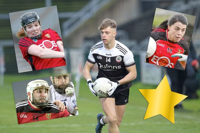 Down's four Gaelic Life All-Stars
