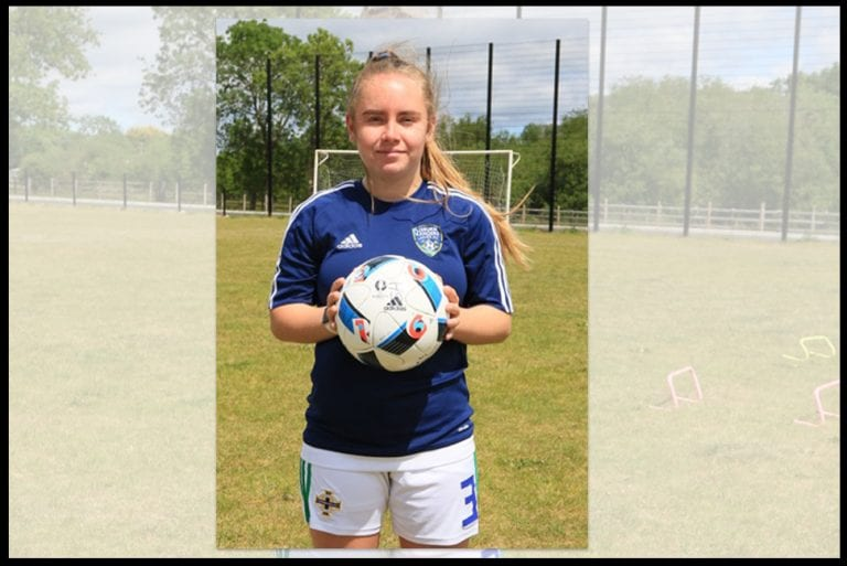 Ella called into NI Ladies soccer squad
