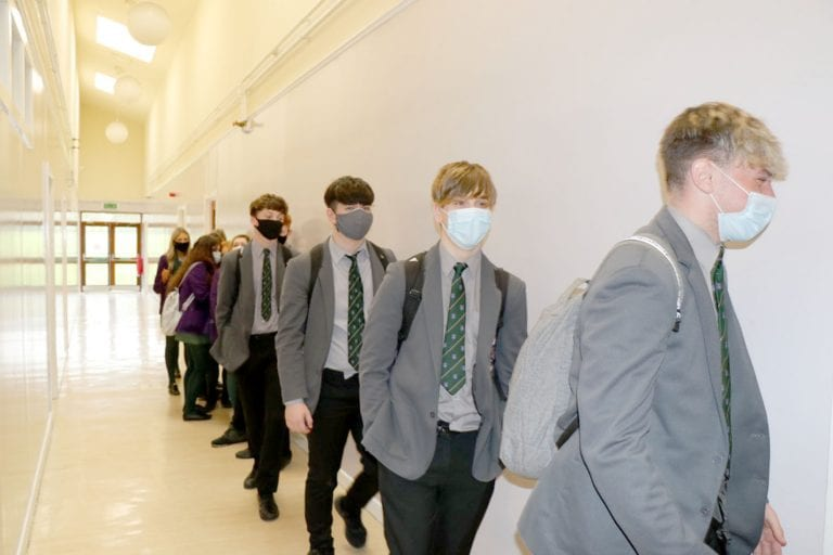 Another welcome step as more pupils return
