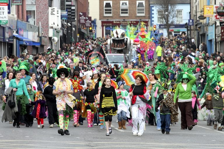 A look back at St Patrick's Day in South Down