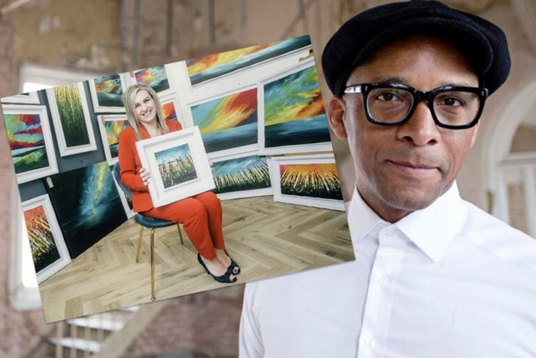 Artist's collaboration with TV presenter is 'a dream come true'