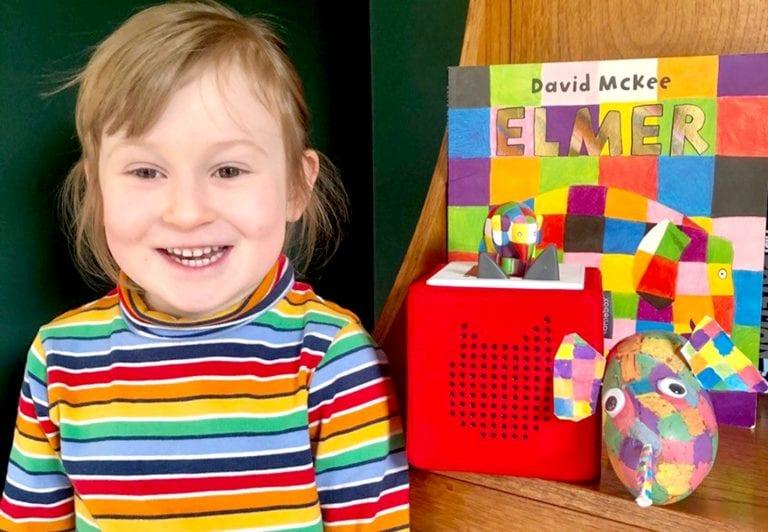 Local children celebrate World Book Day