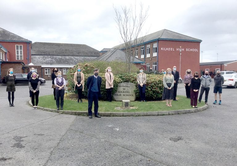 Delight as staff swiftly reach finish line in the Daily Dander challenge