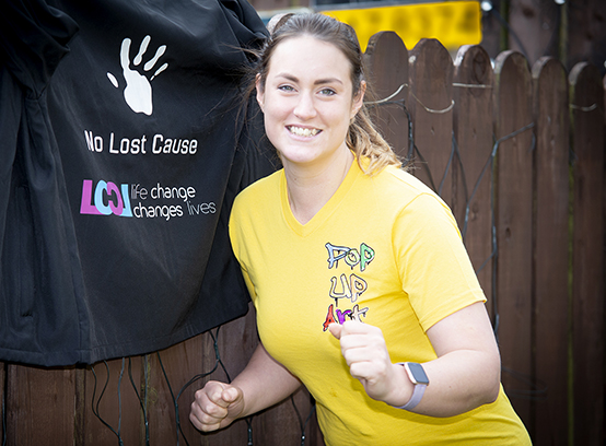 Emma to run half marathon for local mental health charity