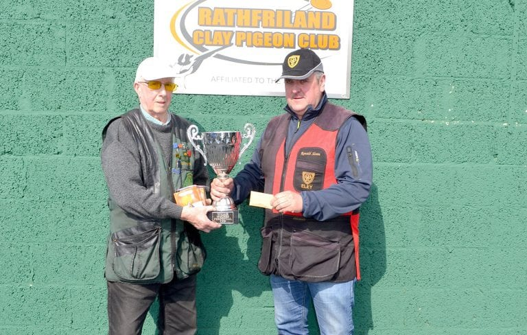 Down the line shooting returns at the Rathfriland club