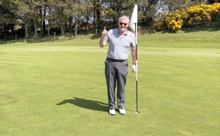 Mourne golfer hits his first hole-in-one on the Royal County Down course