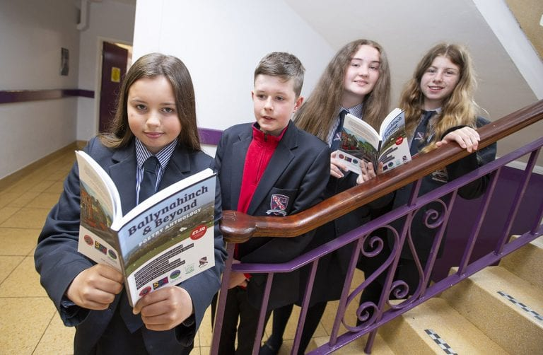 Pupils' work paves way for new anthology
