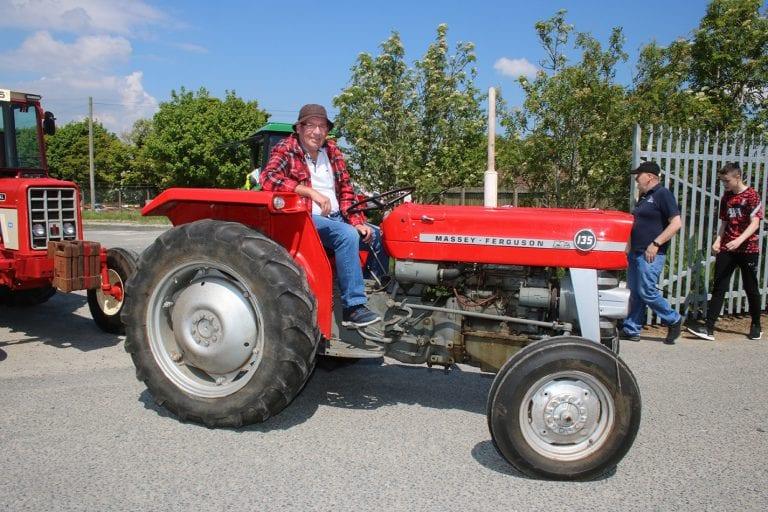 Clonduff Vintage and Classics Club tractor run