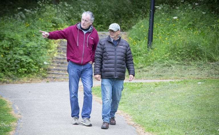 Get the 'new Friday feeling' with walk and talk therapy sessions