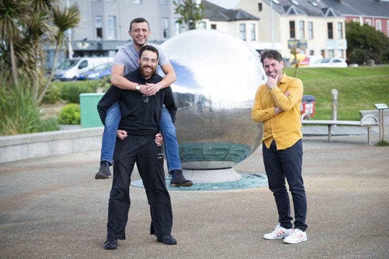 Local men to complete 24-hour 'lean on me' challenge for MYMY