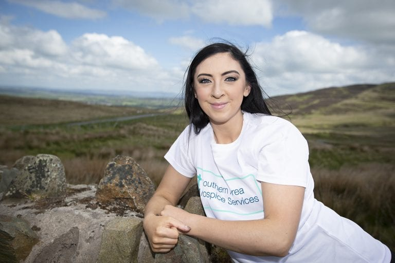 Dromara woman undertaking hiking challenge for hospice