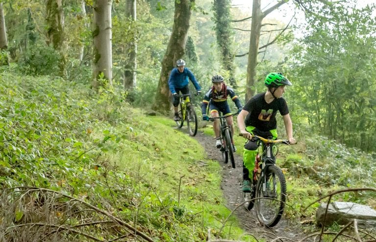 Record-breaking numbers for mountain bike trails