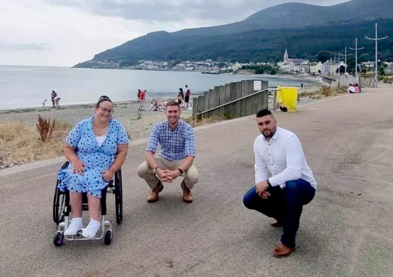 Campaign for wheelchair access on local beaches